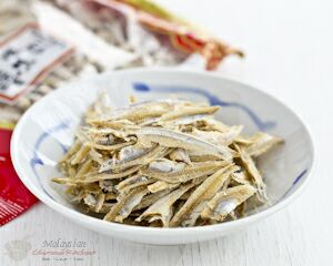 Kang hu (dried anchovies)