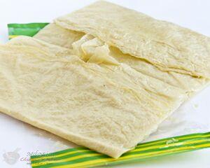 Tau puey (fresh tofu skins)