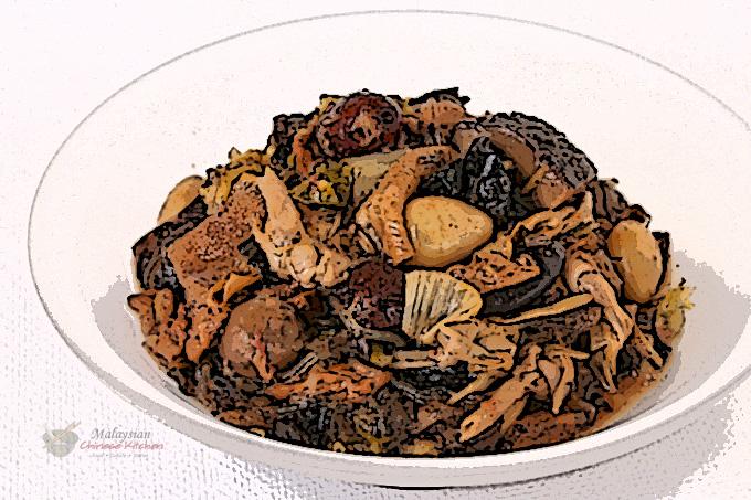 """Chai Choy"" (Braised Vegetarian Dish)"