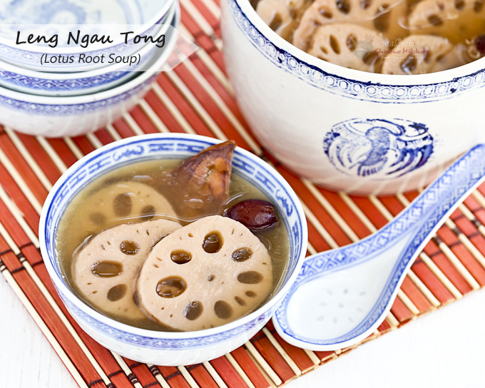 Delicious Leng Ngau Tong (Lotus Root Soup)