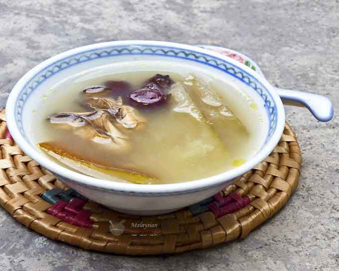 Mature En Cuisine | Lou Wong Kua Tong Mature Cucumber Soup Malaysian Chinese Kitchen