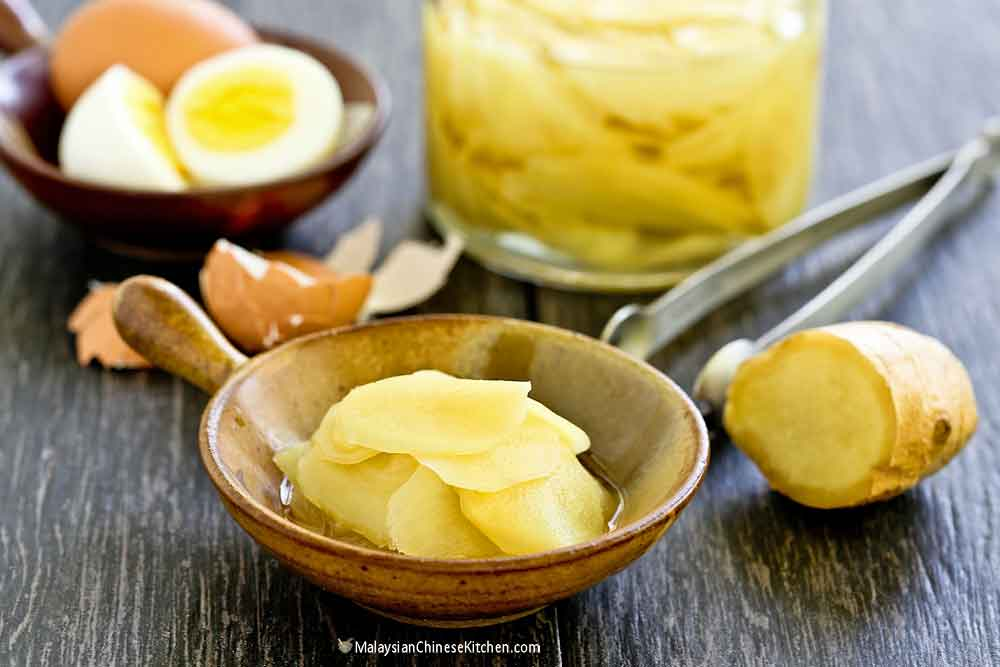 Quick and easy Pickled Ginger.