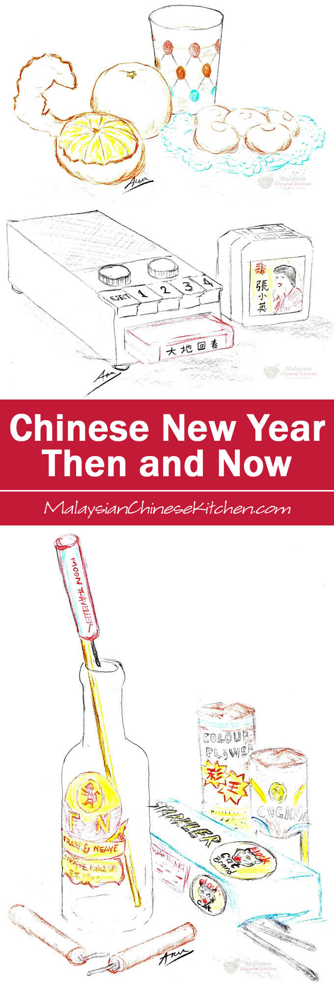 Random musings of Chinese New Year past and present, how some things have changed radically while other things remain the same. | MalaysianChineseKitchen.com