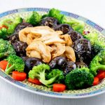 Prepare this special Braised Mushrooms and Abalone for the Chinese New Year or a special occasion. It is a treat you don't want to miss! | MalaysianChineseKitchen.com