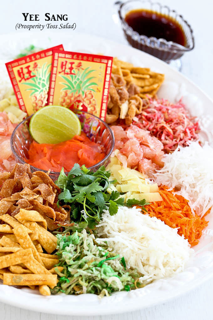 Colorful Yee Sang (Prosperity Toss Salad)