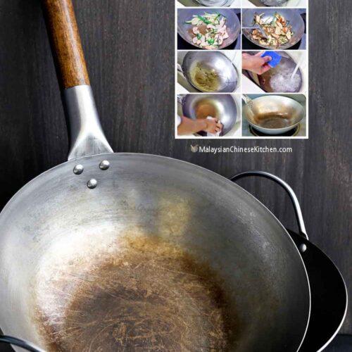Single handle 12 inch wok.