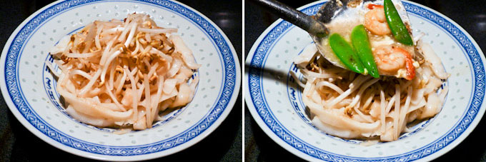 Wat Tan Hor (Cantonese Fried Noodles with Silky Egg Sauce)-9