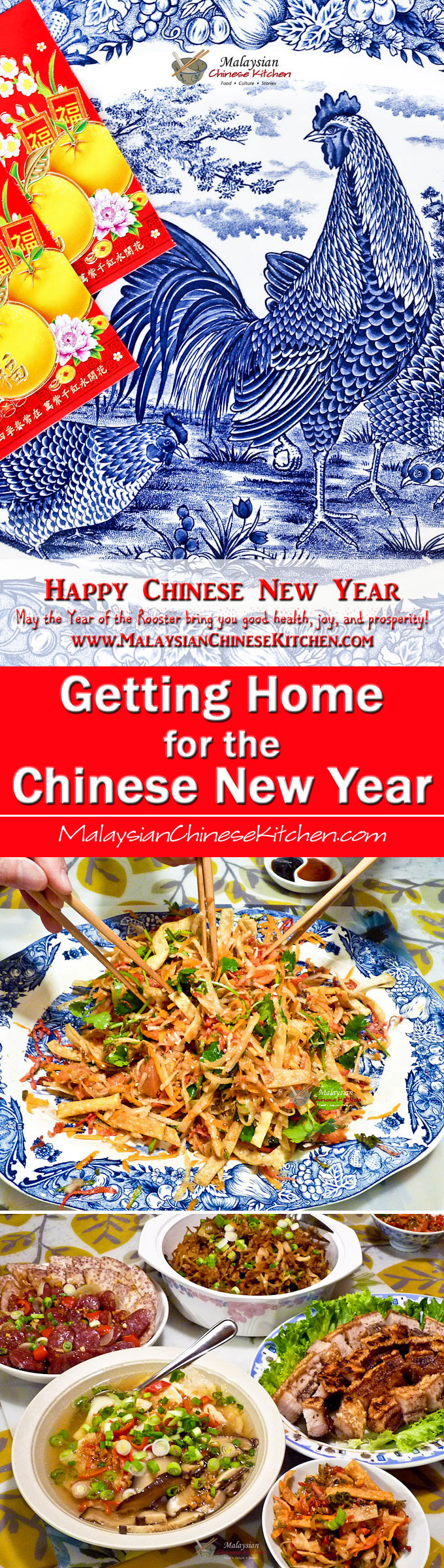 Getting Home for the Chinese New Year - Thoughts about the journey home for the celebration and what it means to those travelling and those waiting. | MalaysianChineseKitchen.com