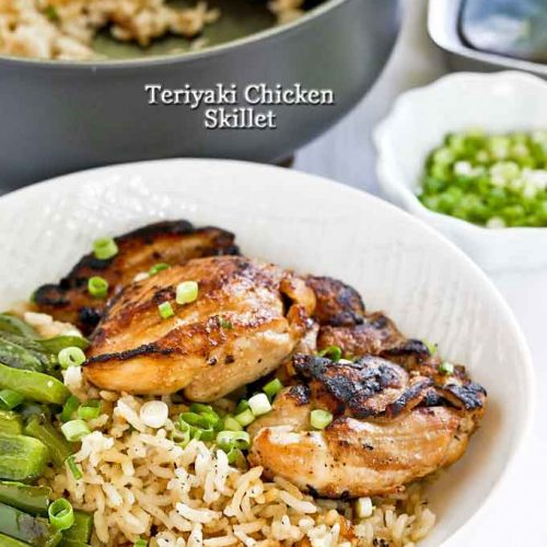 Easy and tasty Teriyaki Chicken Skillet.