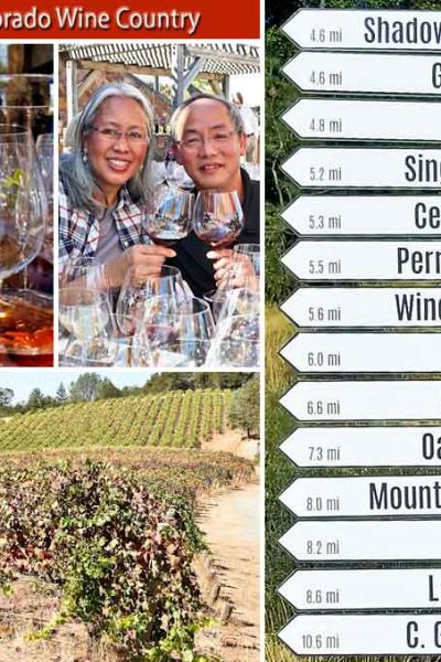 El Dorado Wine Country - full day excursion to the vineyard hill country with great views, meals, and wine. A great way to wrap up IFBC 2017. | MalaysianChineseKitchen.com