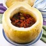 Steamed Stuffed Winter Melon Soup