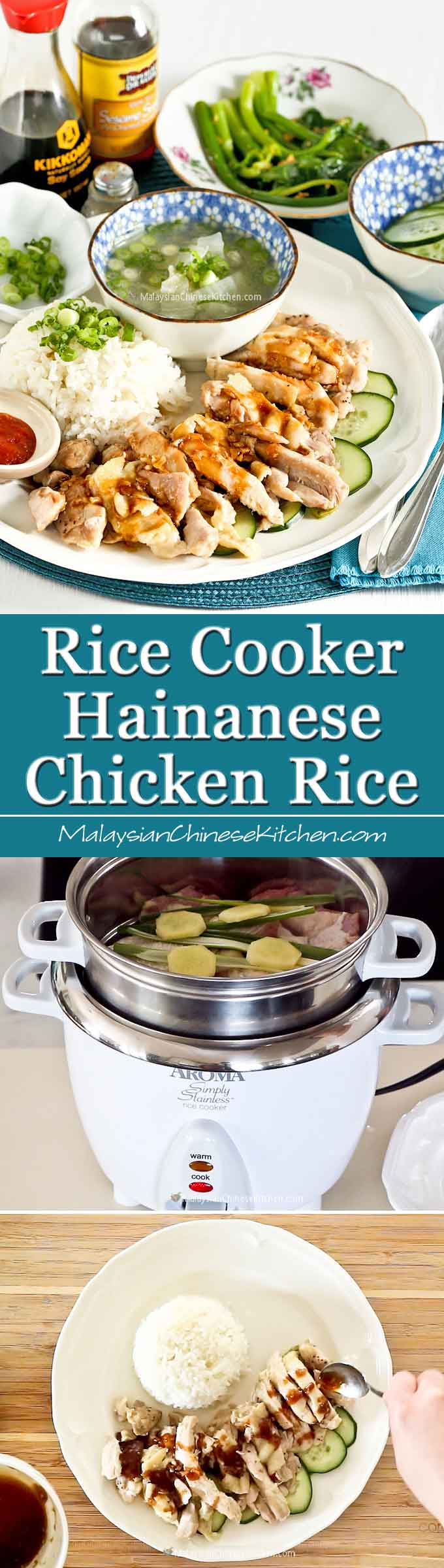 Rice Cooker Hainanese Chicken Rice Dine Solo Episode 5 Malaysian Chinese Kitchen