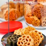 Super crispy Kuih Loyang (Rosettes/Honeycomb Cookies).
