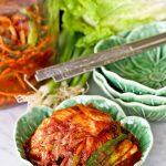 Easy to prepare Napa Cabbage and Scallion Kimchi a.k.a. Mak Kimchi
