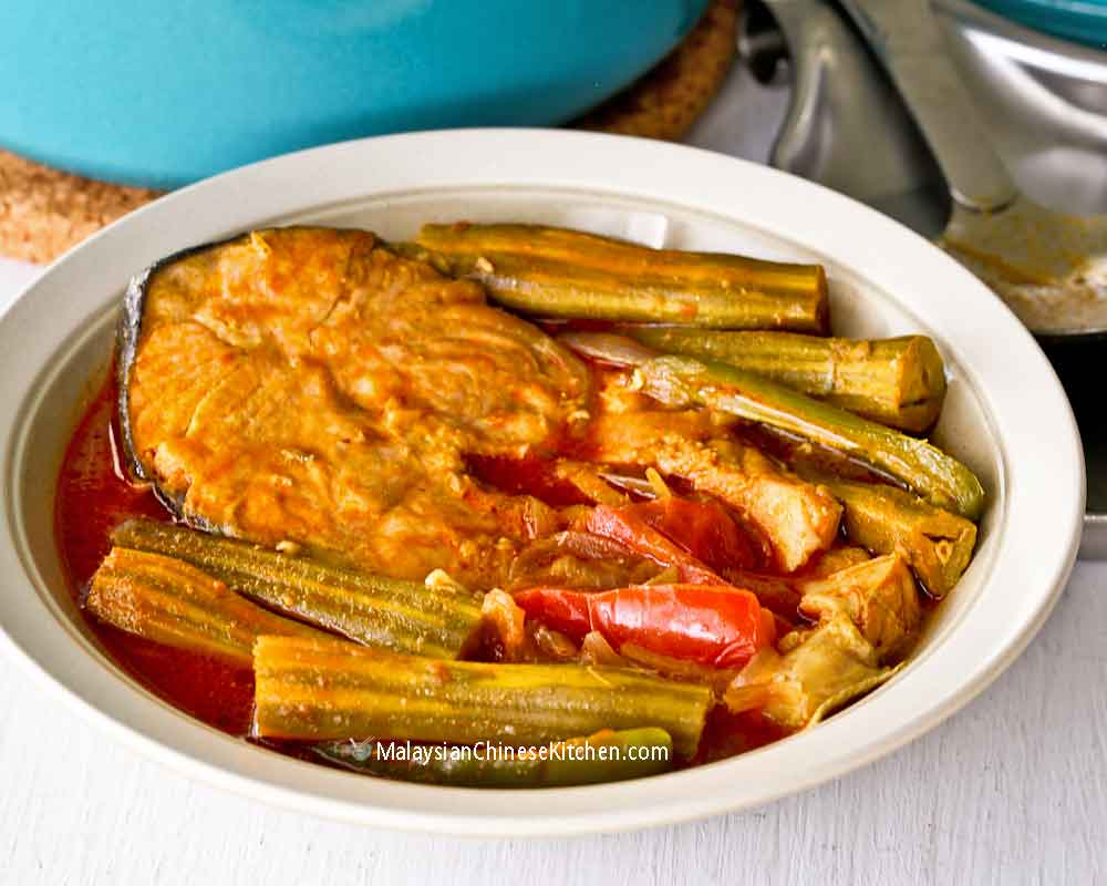 Delicious Drumstick Fish Curry