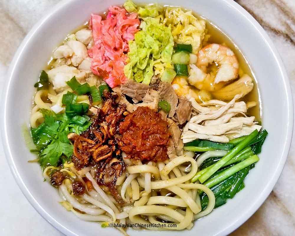 Nyonya Lam Mee (Birthday Noodles)