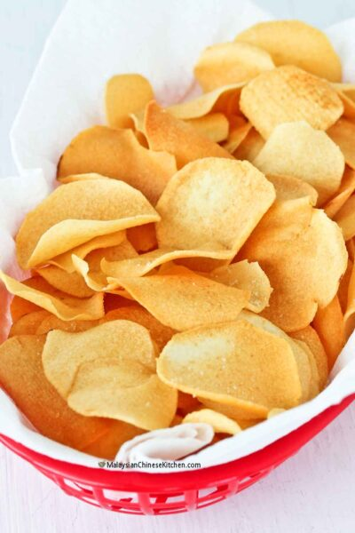 Light and crispy Ngaku Arrowhead Chips