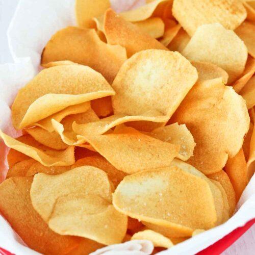Light and crispy Ngaku Arrowhead Chips
