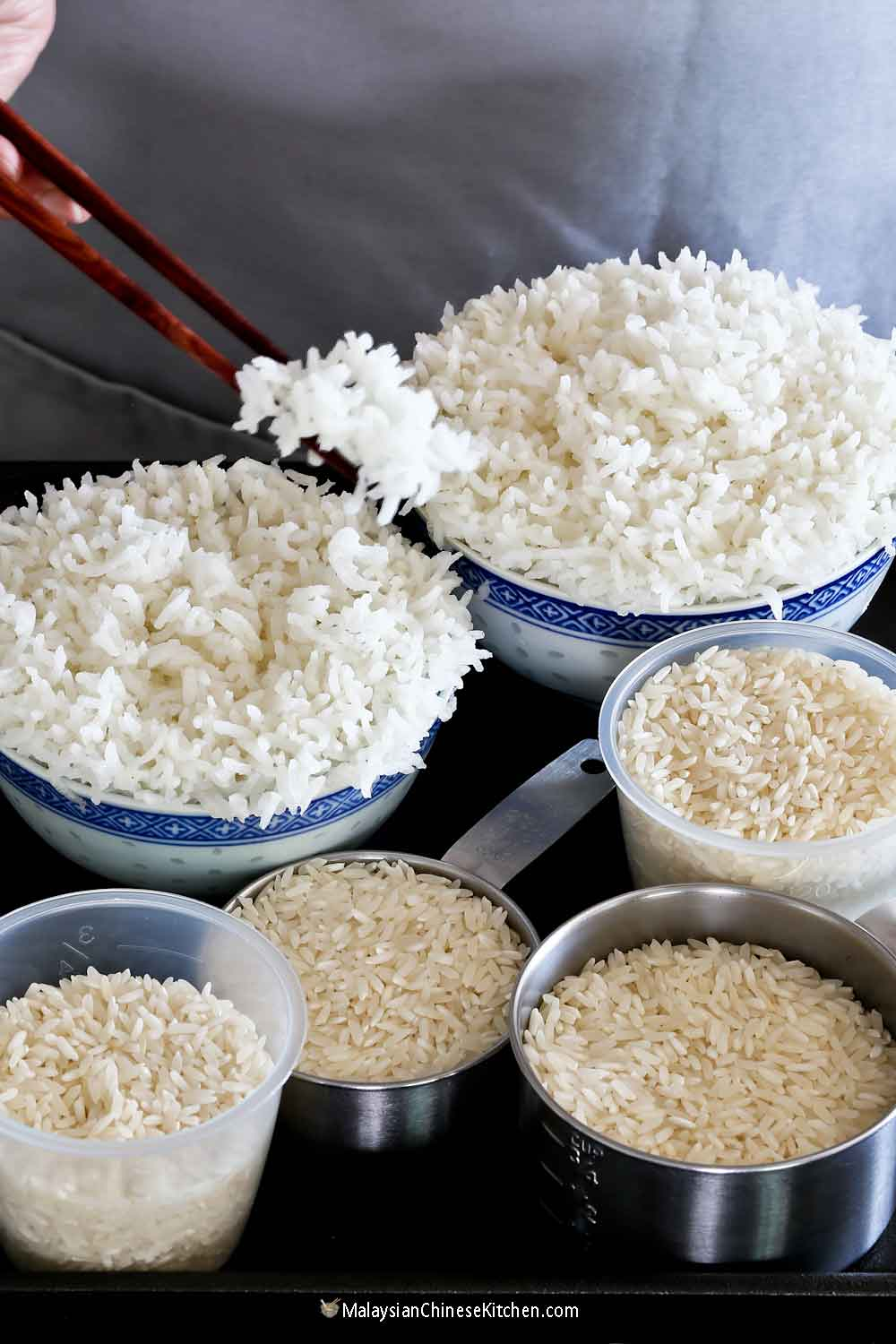 How to Steam Rice for the fluffiest rice ever!